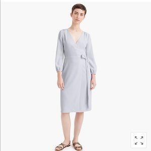 Jcrew 365 Crepe Wrap Dress